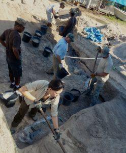 history flight archaeologist recovers bonnyman from Tarawa
